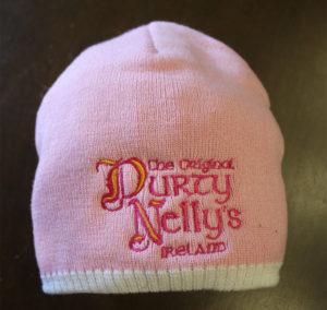 Durty Nellys Irish Pub Bunratty Pink Beanie Hat