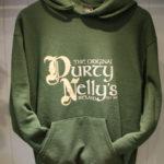 Durty Nellys Irish Pub Bunratty Green Hoodie