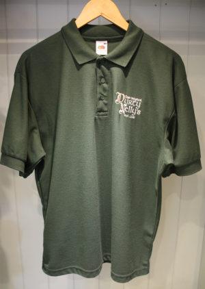 Durty Nellys Irish Pub Bunratty Green Polo Shirt