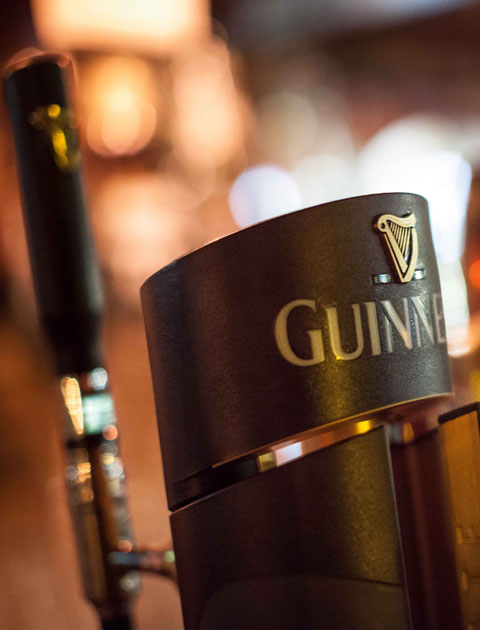 Pull your own pint at Durty Nellys Irish Pub Bunratty